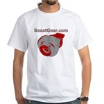 BoostGear Turbo Shirt - White T-Shirt
