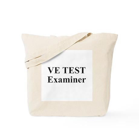 VE Test Examiner Tote Bag