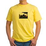 Hugging Horses Yellow T-Shirt