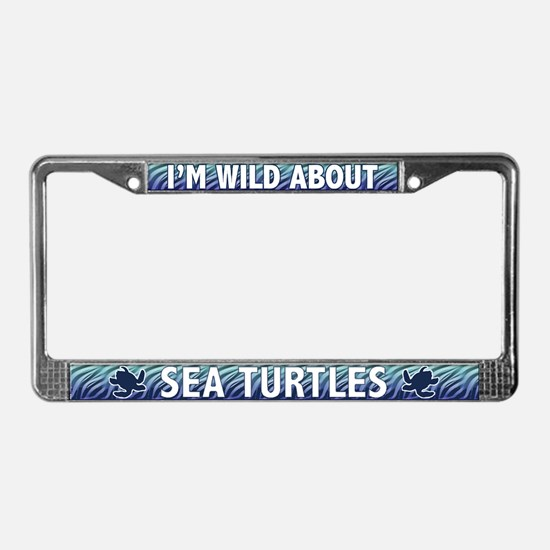 Sea Turtle License Plate Frame