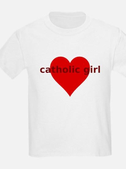 Unique Catholic girls T-Shirt
