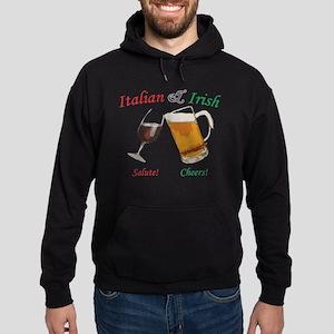 Italian and Irish Hoodie (dark)