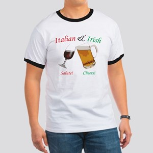 Italian and Irish Ringer T
