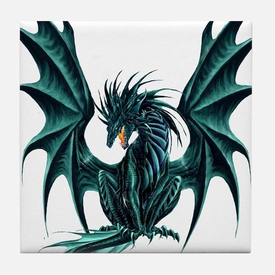 Ruth Thompson's Jade Dragon Tile Coaster