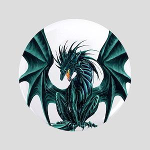 "Ruth Thompson's Jade Dragon 3.5"" Button"
