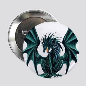 "Ruth Thompson's Jade Dragon 2.25"" Button"
