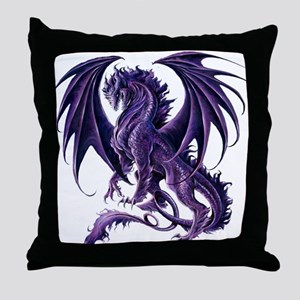 Ruth Thompson's Draconis Nox Dragon Throw Pillow
