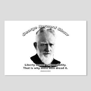 George Bernard Shaw Postcards (Package of 8)