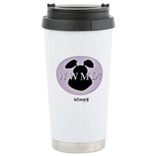 What Would Mamet Do? Stainless Steel Travel Mug