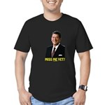 Reagan Miss Me Yet Men's Fitted T-Shirt (dark)