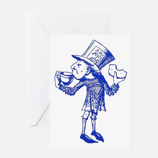 Haigha Blue Greeting Card