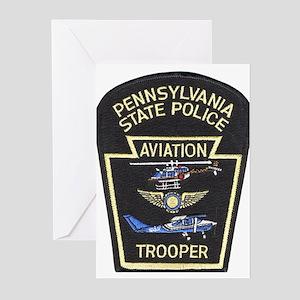 Pennsylvania State Police Avi Greeting Cards (Pk o