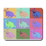 Warhol Style Jack Russell Design on Mousepad