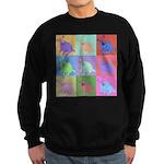 Warhol Style Jack Russell Design on Sweatshirt (da