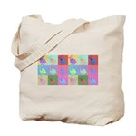 Warhol Style Jack Russell Design on Tote Bag