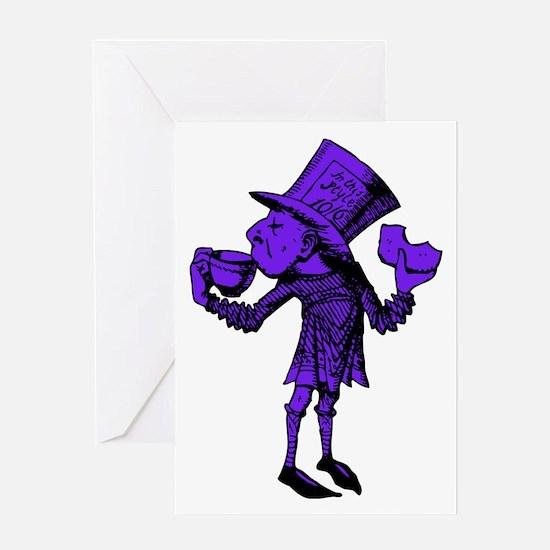Haigha Purple Fill Greeting Card