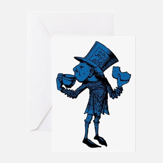 Haigha Blue Fill Greeting Card