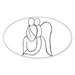 Guardian Angel Sticker (Oval 10 pk)