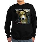 Make It Stop 7 Sweatshirt (dark)