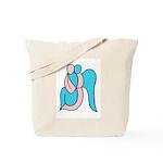 Guardian Angel in Color Tote Bag
