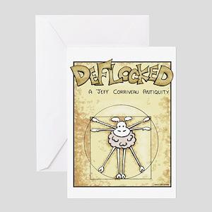 Vitruvian Mamet Greeting Card