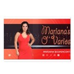 Mariana's O-Varios Postcards (Package of 8)