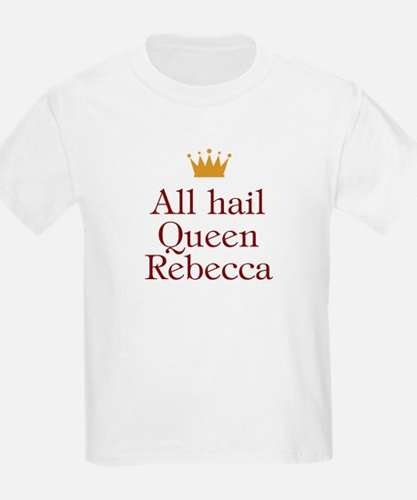 Personalized All Hail Queen T-Shirt