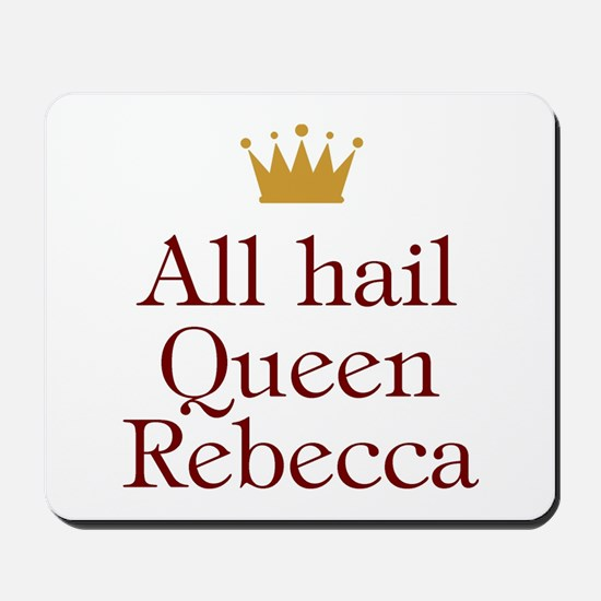 Personalized All Hail Queen Mousepad