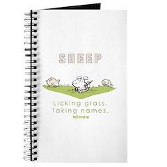 Licking Grass, Taking Names Journal