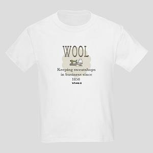 DeFlocked Wool Kids Light T-Shirt