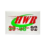 """HWR"" Rectangle Magnet (100 pack)"