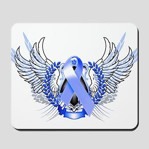 Awareness Tribal Blue Mousepad