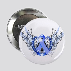 "Awareness Tribal Blue 2.25"" Button"