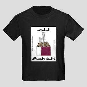 Qatar Oil Patch Kids Dark T-Shirt