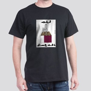 Qatar Oil Patch Dark T-Shirt