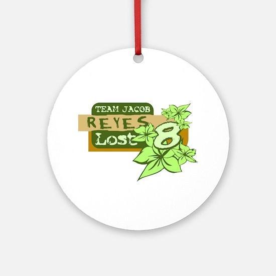 Team Jacob - Reyes 8 Round Ornament