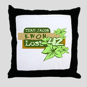Team Jacob - Kwon 42 Throw Pillow