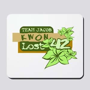 Team Jacob - Kwon 42 Mousepad