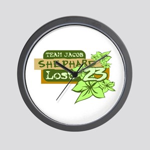 Team Jacob - Shephard 23 Wall Clock