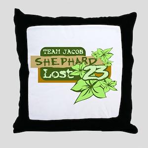 Team Jacob - Shephard 23 Throw Pillow