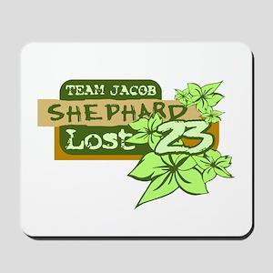 Team Jacob - Shephard 23 Mousepad