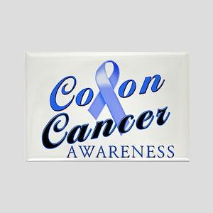 Colon Cancer Awareness Rectangle Magnet