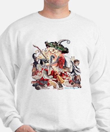 RT's Faerie Witch of Cats Sweatshirt