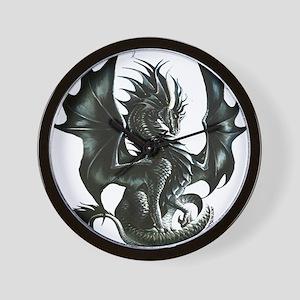 RThompson's Obsidian Dragon Wall Clock