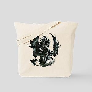 RThompson's Obsidian Dragon Tote Bag