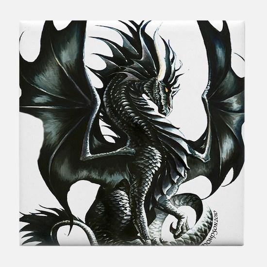 RThompson's Obsidian Dragon Tile Coaster