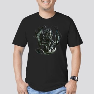RThompson's Obsidian Dragon Men's Fitted T-Shirt (