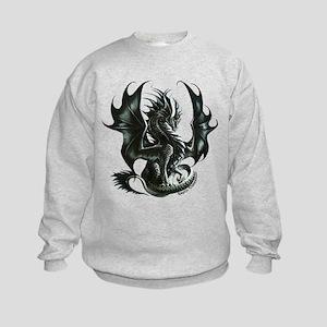 RThompson's Obsidian Dragon Kids Sweatshirt