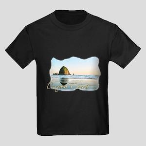 Haystack Rock Kids Dark T-Shirt