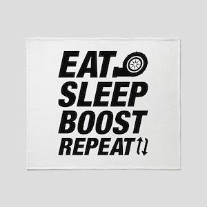 Eat Sleep Boost Repeat Stadium Blanket